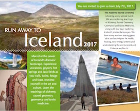 16 page brochure tour of Iceland 2017