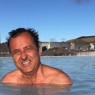 Roger Green greets you from Healing Spas of Iceland